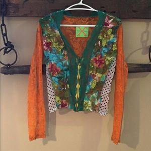 Vintage Woo Xoom Paris blouse